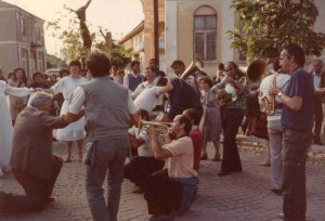 Gypsy wedding band, Berovo, Macedonia, 1985