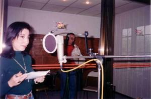 Recording with Phanari tis Anatolis, Istanbul 1993